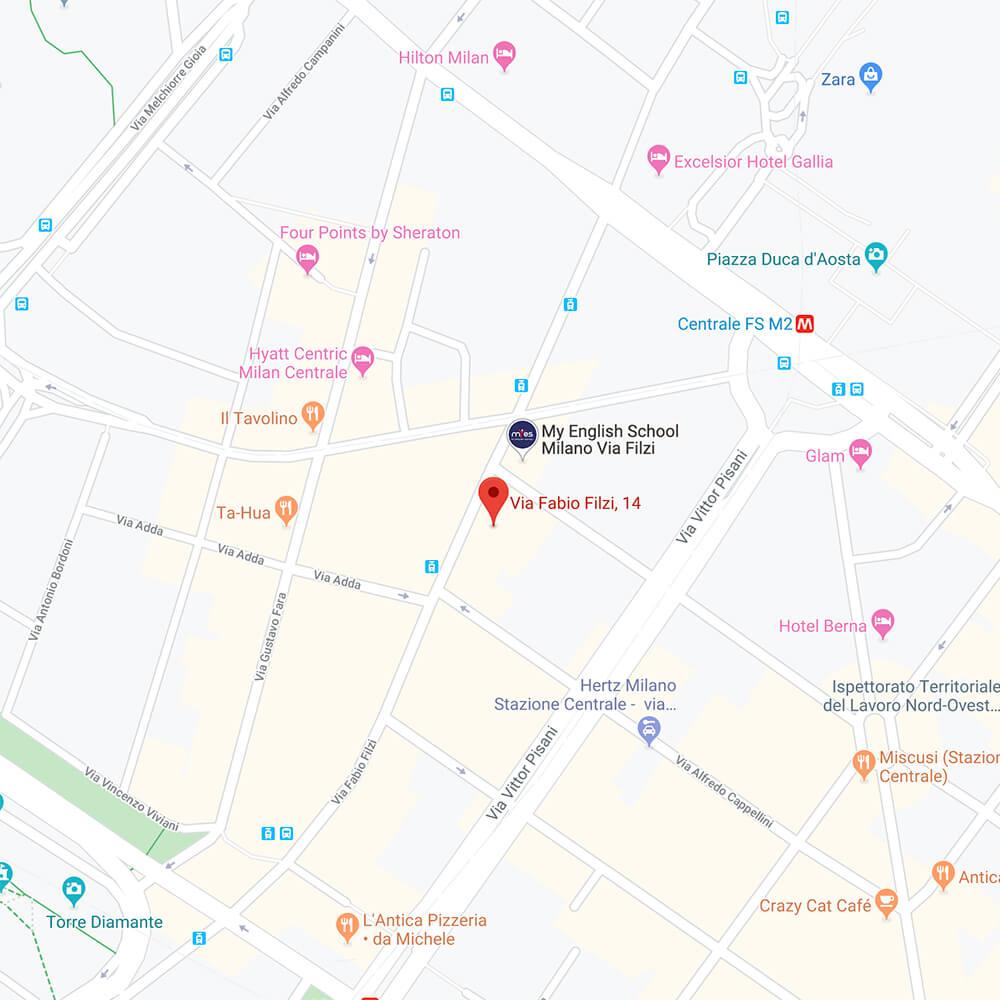 Mappa Clinica Veterinaria Centrale